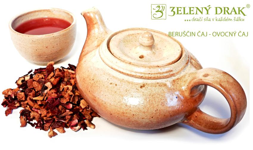BERUŠČIN ČAJ - ovocný čaj - nálev