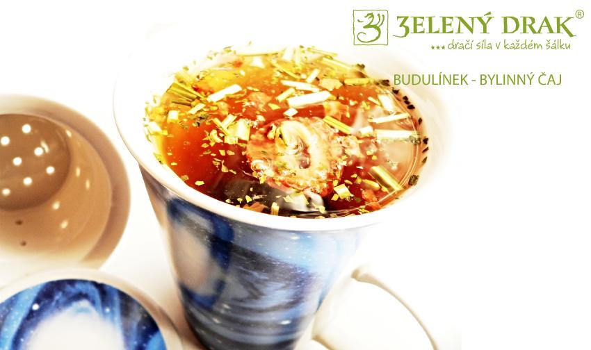 BUDULÍNEK - bylinný čaj - nálev
