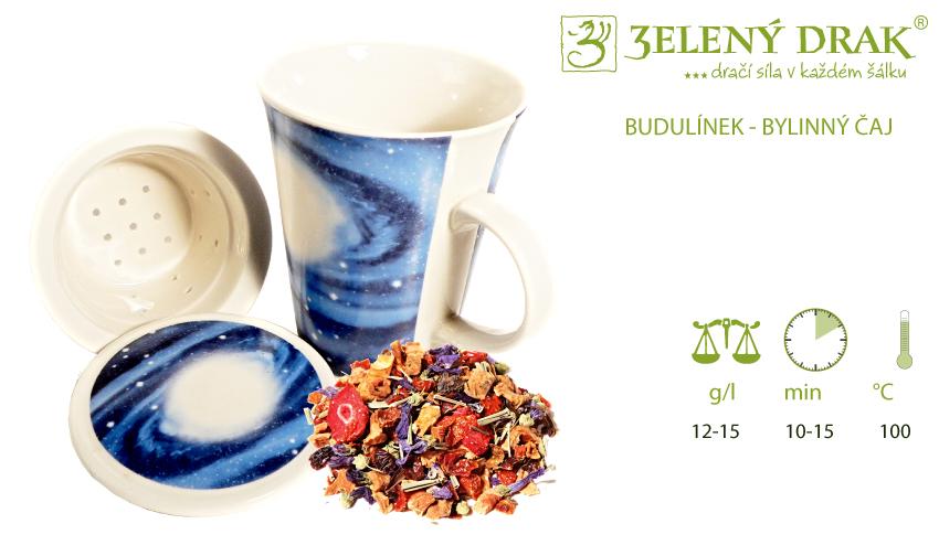BUDULÍNEK - bylinný čaj - příprava
