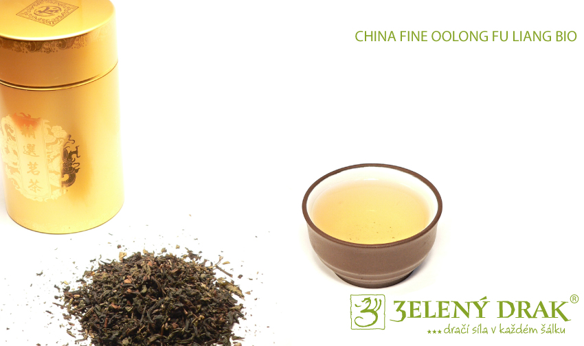 CHINA FINE OOLONG FU LIANG BIO - oolong čaj