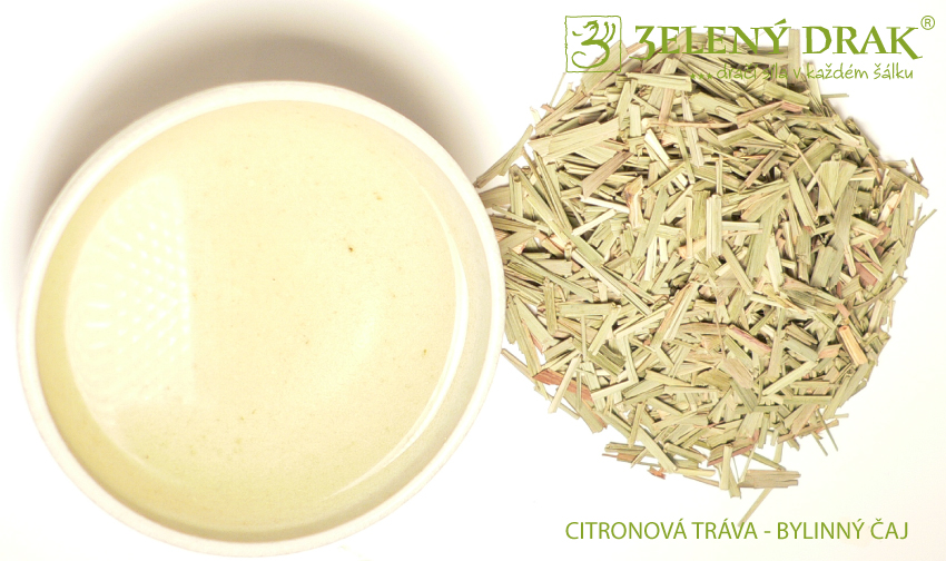 CITRONOVÁ TRÁVA - bylinný čaj - nálev