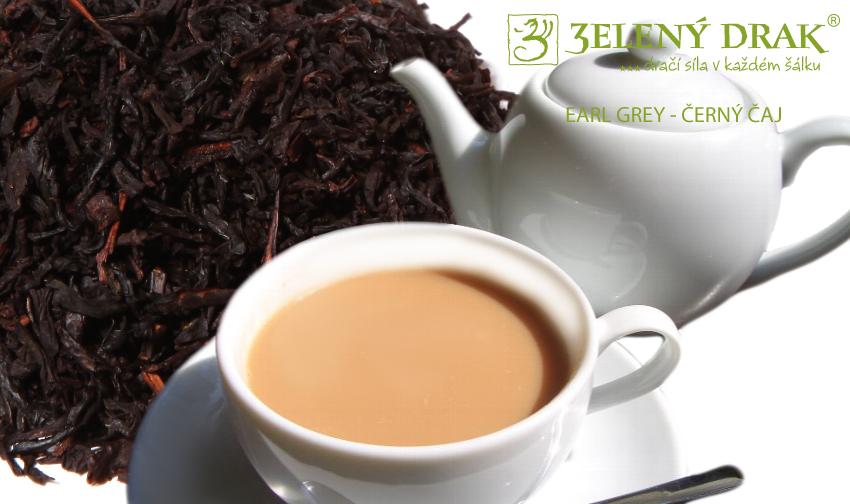 EARL GREY - černý čaj - nálev