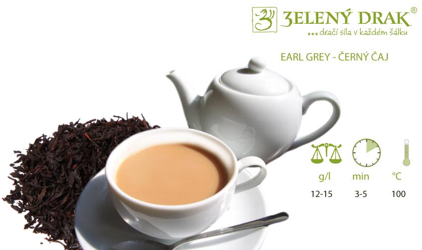EARL GREY - černý čaj - příprava