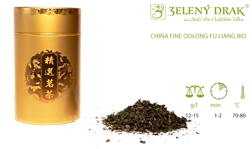 CHINA FINE OOLONG FU LIANG BIO - oolong čaj - příprava