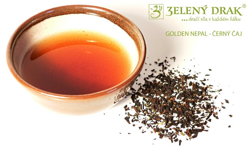 GOLDEN NEPAL - černý čaj - nálev