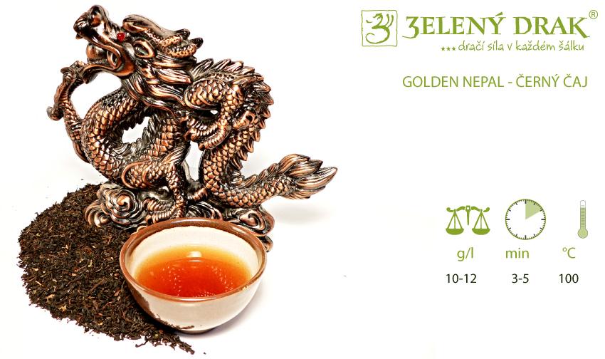 GOLDEN NEPAL - černý čaj - příprava