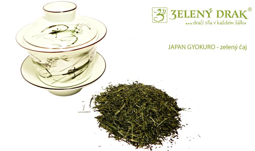 Japan Gyokuro - zelený japonský čaj