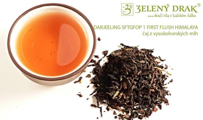 DARJEELING SFTGFOP 1 FIRST FLUSH HIMALAYA – čaj z vysokohorských mlh - nálev