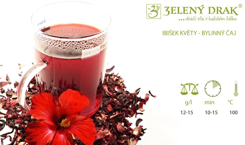 IBIŠEK - bylinný čaj - příprava