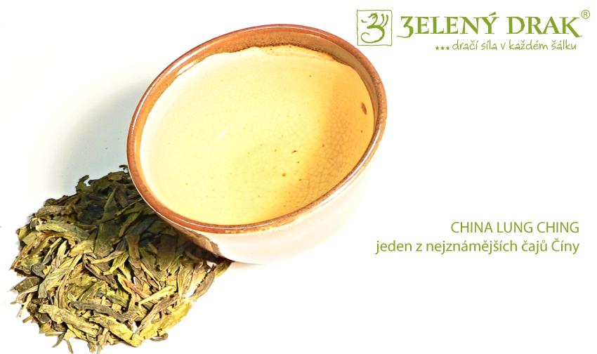 CHINA LUNG CHING - jeden z nejznámějších čajů Číny - nálev