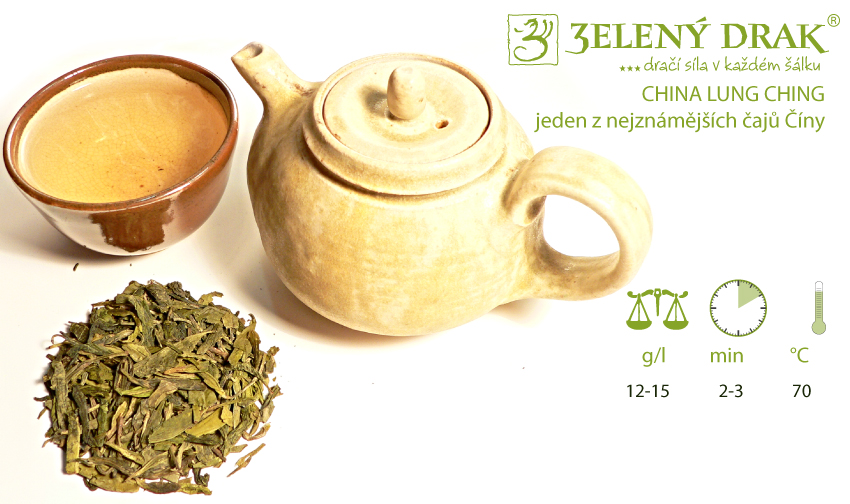 CHINA LUNG CHING - jeden z nejznámějších čajů Číny - příprava