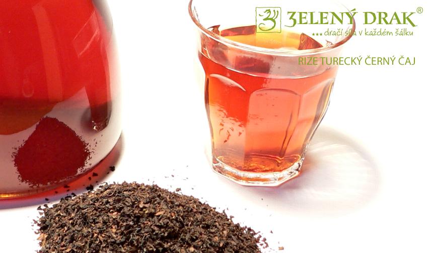 TURECKÝ ČAJ RIZE - černý čaj