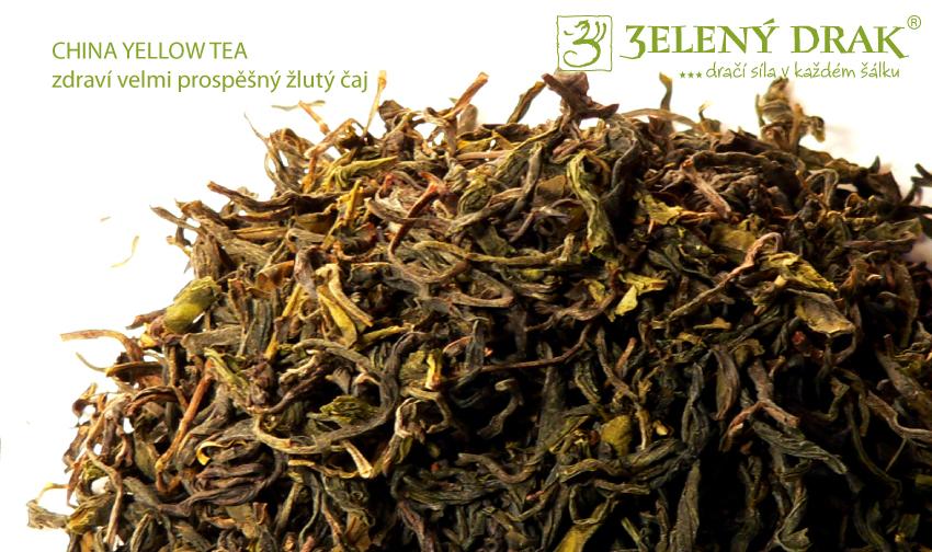 CHINA YELLOW TEA - zdravotně velmi prospěšný žlutý čaj