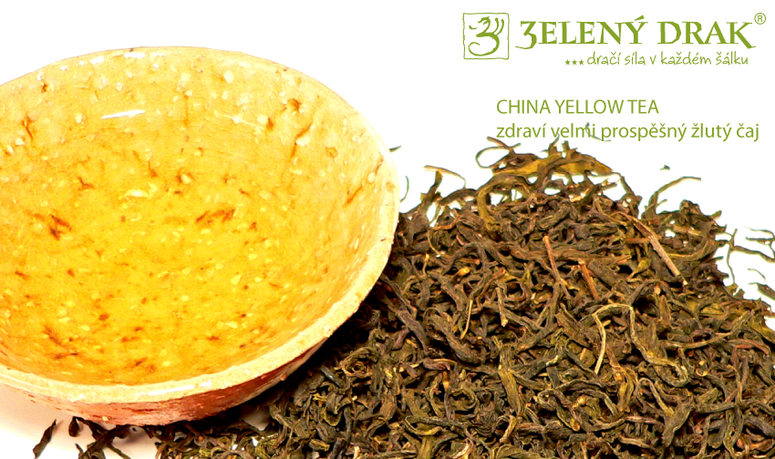 CHINA YELLOW TEA - žlutý čaj - nálev