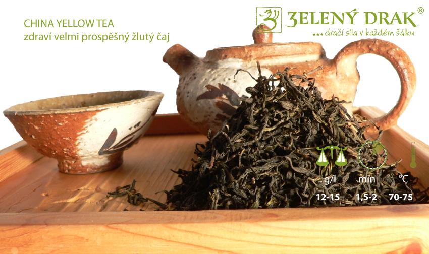 CHINA YELLOW TEA - žlutý čaj - příprava